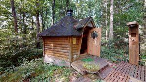 Sauna dans le Morvan